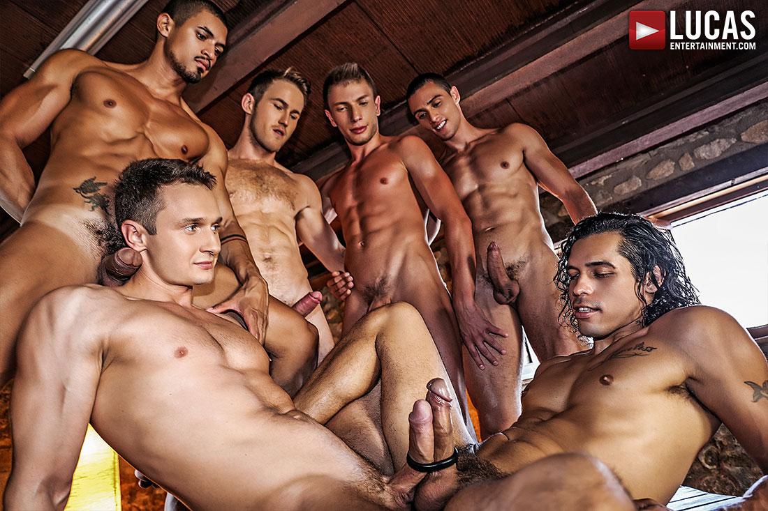 dubbel penetration orgie