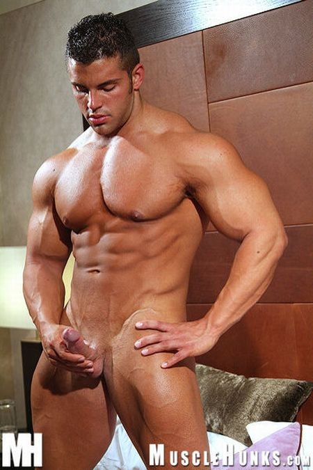 Hunk Muscle Gay