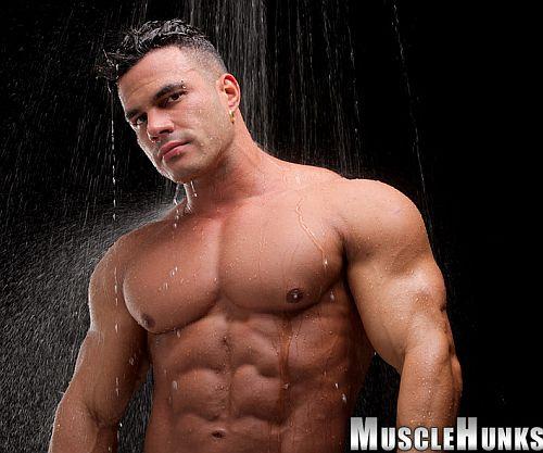 Enzo Pileri Big And Ripped Muscle Dancer  Men 4 Men Live -7965
