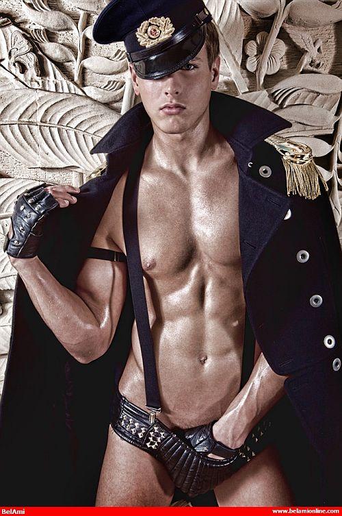 Men naked in uniform — photo 10