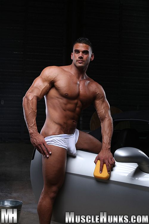 Johnny Carreras Naked Car Wash Musclehunks - Destination -7118