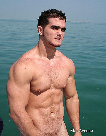 male swimmer body Naked