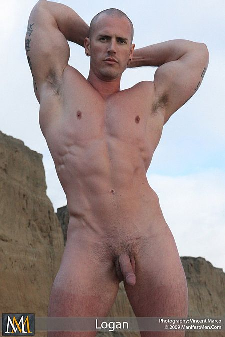 from Avery gay naked and muscular men