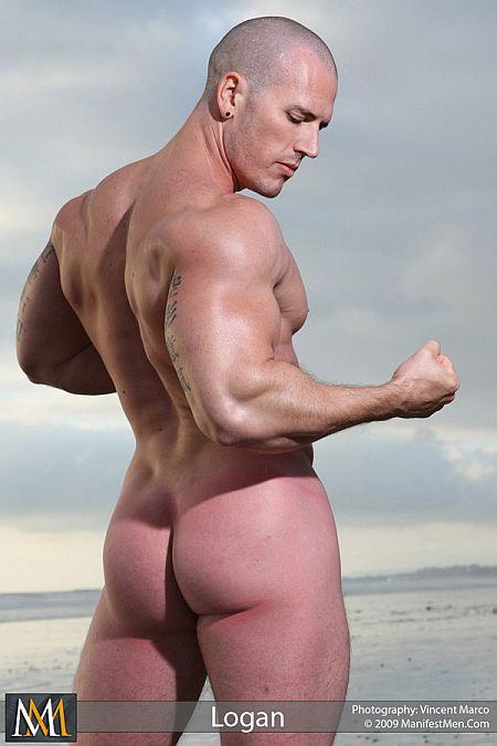 Logan Beach Tall  Muscular At Manifestmen - Destination -3182