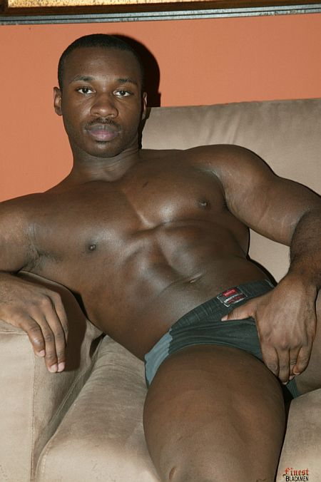 Black muscle stud