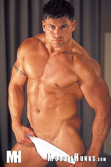 Sexy Muscle Stud Mico Valentine On Musclehunks  Men 4 Men -3296