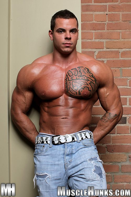 Mann bodybuilder musclehunks otto