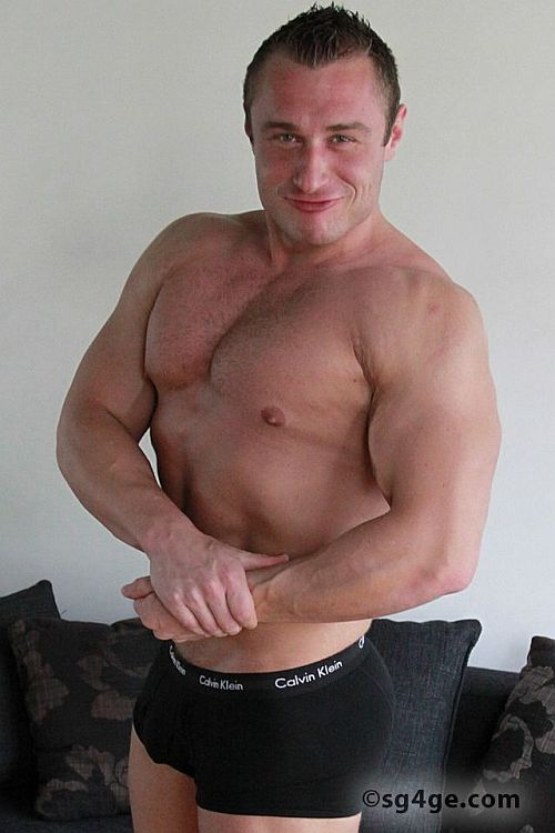 Rudolf Schneider Prague Muscle On Sg4Ge  Men 4 Men Live -9926